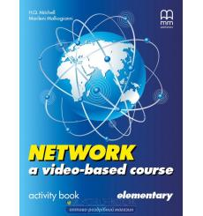 Тетрадь Network a video- based course Elementary activity book Mitchell H 9789604784264 купить Киев Украина