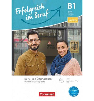 Тетрадь Pluspunkt Deutsch: Erfolgreich im Beruf B1 Kursbuch und Ubungsbuch ISBN 9783060229659