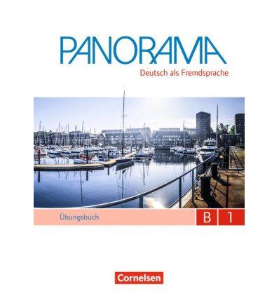 Тетрадь Panorama B1 Ubungsbuch DaF mit Audio-CDs ISBN 9783061204792