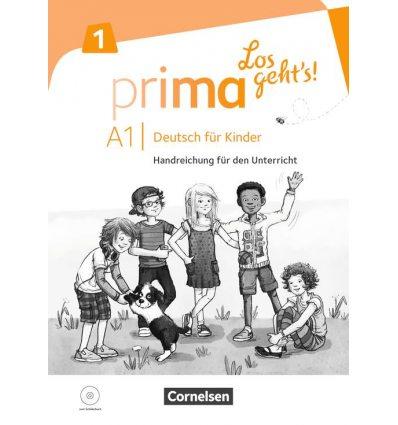 Prima Los gehts! A1.1 Handreichung und Audio-CD ISBN 9783065206297