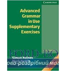 Грамматика Advanced Grammar in Use Supplementary Exercises with answers 2nd Edition 9780521788076 купить Киев Украина