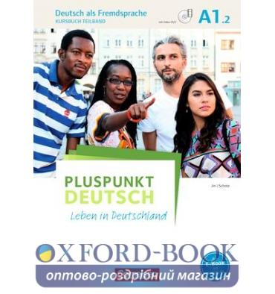Учебник Pluspunkt Deutsch NEU A1/2 Kursbuch mit Video-DVD Jin, F ISBN 9783061205669