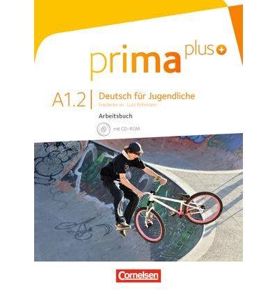Рабочая тетрадь Prima plus A1/2 Arbeitsbuch mit CD-ROM Jin, F ISBN 9783061206406