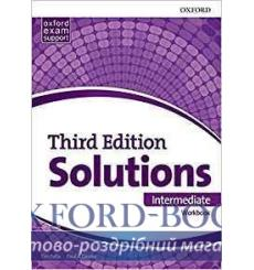 Solutions 3rd Edition Intermediate Workbook (Ukrainian Edition)