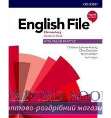 Підручник English File 4th Edition Elementary Students Book with Students Resource Centre ISBN 9780194031592