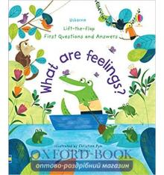 Книга What are Feelings? ISBN 9781474948180