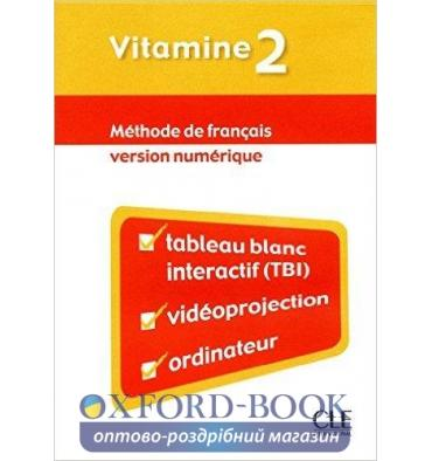 Книга для учителя Vitamine 2 teachers book Martin, C ISBN 9782090324990