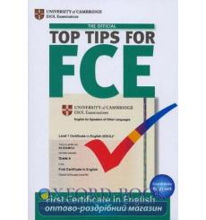Top Tips for FCE Book with CD ISBN 9781906438258 купить Киев Украина