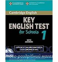Cambridge KET for Schools 1 Self-study Pack (SB with answers and Audio CD) ISBN 9780521178334 купить Киев Украина