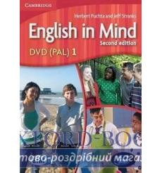 English in Mind 1 dvd Puchta H 2nd Edition 9780521153744 купить Киев Украина