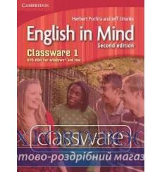 English in Mind 1 Classware dvd-ROM Puchta H 2nd Edition 9780521176811 купить Киев Украина