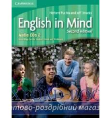 English in Mind 2 Audio CDs (3) Puchta H 2nd Edition 9780521183369 купить Киев Украина