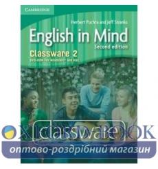 English in Mind 2 Classware dvd-ROM Puchta H 2nd Edition 9780521123532 купить Киев Украина