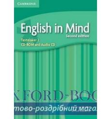 Тесты English in Mind 2 Testmaker Audio CD/CD-ROM Greenwood A 2nd Edition 9780521136846 купить Киев Украина