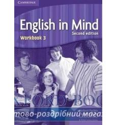 Тетрадь English in Mind 3 Workbook Puchta, H 3rd Edition 9780521185608 купить Киев Украина