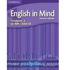 Тесты English in Mind 3 Testmaker Audio CD/CD-ROM Ackroyd S 2nd Edition 9780521185622 купить Киев Украина