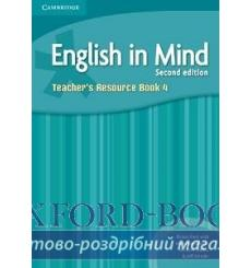 Книга English in Mind 4 Teachers Resource Book Puchta H 2nd Edition 9780521184502 купить Киев Украина