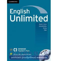 English Unlimited Advanced Teachers Pack (with DVD-ROM) Doff, A ISBN 9780521175593 купить Киев Украина