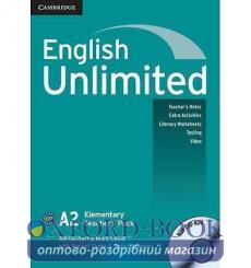 English Unlimited Elementary Teachers Pack (with DVD-ROM) Doff, A ISBN 9780521697767 купить Киев Украина