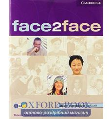Тетрадь Face2face Upper Intermediate workbook with Key 9780521691659 купить Киев Украина