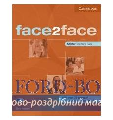 Face2face Starter teachers book Redston, Ch 9780521712750 купить Киев Украина