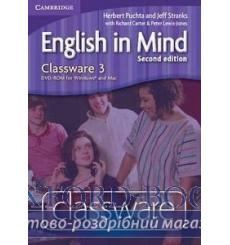 English in Mind 3 Classware dvd-ROM Puchta H 2nd Edition 9780521174831 купить Киев Украина