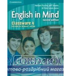 English in Mind 4 Classware dvd-ROM Puchta H 2nd Edition 9780521184540 купить Киев Украина