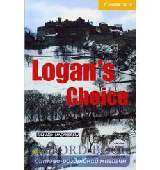 Книга Cambridge Readers Logans Choice: Book with Audio CD Pack MacAndrew, R ISBN 9780521686389 купить Киев Украина