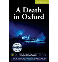Книга Cambridge Readers St Death in Oxford: Book with Audio CD Pack MacAndrew, R ISBN 9780521704656 купить Киев Украина