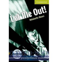 Книга Cambridge Readers St Let Me Out! Book with Audio CD Pack Moses, A ISBN 9780521683302 купить Киев Украина