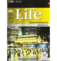 Тетрадь Life Upper-Intermediate workbook with Audio CD Stephenson H 9781133315469 купить Киев Украина