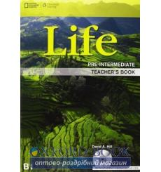 Книга для учителя Life Pre-Intermediate Teachers Book with Audio CD Stephenson, H ISBN 9781133316077 купить Киев Украина