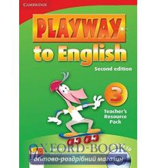 Playway to English 3 Teachers Resource Pack with Audio CD Gerngross G 2nd Edition 9780521131254 купить Киев Украина