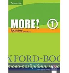 Книга для учителя More! 1 teachers book Pelteret, Ch ISBN 9780521712958 купить Киев Украина