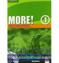 Тетрадь More 1 workbook with Audio CD Puchta H 9780521712941 купить Киев Украина