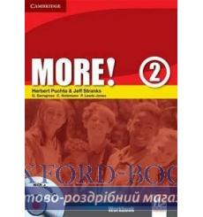 Тетрадь More 2 workbook with Audio CD Puchta H 9780521713016 купить Киев Украина