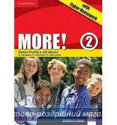 Учебник More 2 Students Book with interactive CD-ROM with Cyber Homework Puchta H 9780521146708 купить Киев Украина