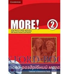 Тесты More! 2 Teachers Resource Pack with Testbuilder CD-ROM Penn, J ISBN 9780521713030 купить Киев Украина