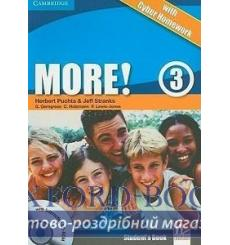 Учебник More 3 Students Book with interactive CD-ROM with Cyber Homework Puchta H 9780521149914 купить Киев Украина