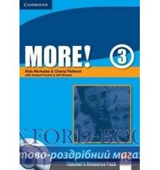Тесты More! 3 Teachers Resource Pack with Testbuilder CD-ROM Nicholas, R ISBN 9780521713108 купить Киев Украина
