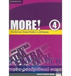 Книга More! 4 Extra Practice Book Nicholas, R ISBN 9780521713191 купить Киев Украина
