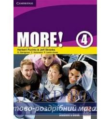Учебник More 4 Students Book with interactive CD-ROM Puchta H 9780521713146 купить Киев Украина