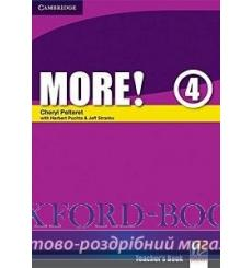 Книга для учителя More! 4 teachers book Pelteret, Ch ISBN 9780521713160 купить Киев Украина