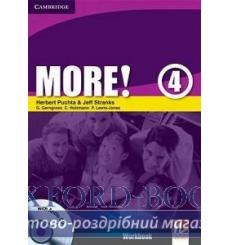 Тетрадь More 4 workbook with Audio CD Puchta H 9780521713153 купить Киев Украина