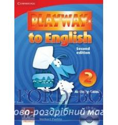 Тетрадь Playway to English 2 Arbeitsbuch with CD-ROM Puchta H 2nd Edition 9780521131148 купить Киев Украина