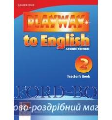 Книга для учителя Playway to English 2 teachers book Gerngross G 2nd Edition 9780521131117 купить Киев Украина