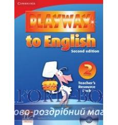 Playway to English 2 Teachers Resource Pack with Audio CD Gerngross G 2nd Edition 9780521131087 купить Киев Украина