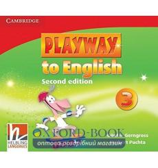 Диск Playway to English 3 Class Audio CDs (3) Gerngross G 2nd Edition 9780521131285 купить Киев Украина