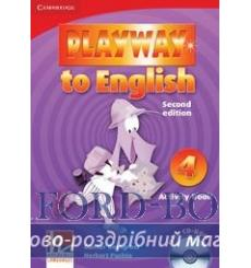 Тетрадь Playway to English 4 Arbeitsbuch with CD-ROM Gerngross G 2nd Edition 9780521131421 купить Киев Украина