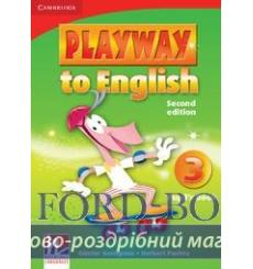 Учебник Playway to English 3 Pupils book Gerngross, G  3rd Edition 9780521131179 купить Киев Украина